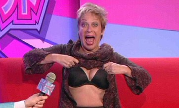 Denise Welch flashes again in Celebrity Big Brother's Japanese task