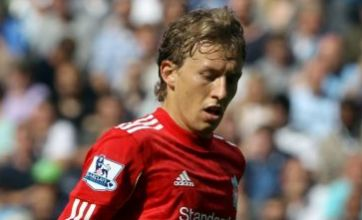 Lucas Leiva returns to Liverpool from Brazil to continue rehabilitation