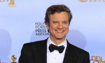 The King's Speech star Colin Firth given CBE by Prince Charles