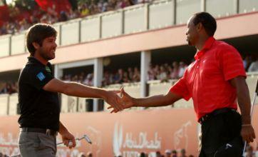 Robert Rock beats Tiger Woods to take Abu Dhabi Championship