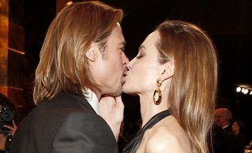 Brad Pitt kisses away Best Actor miss with Angelina Jolie at SAGs