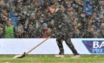 Roberto Mancini pleased with Man City's 'important' win in the snow