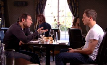 Mario Falcone's dad tells him to dump Lucy Meck on new episode of TOWIE