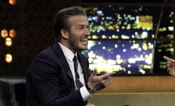 David Beckham tells Jonathan Ross: Victoria and I may have more children