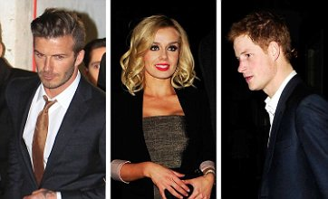 David Beckham and Prince Harry party with Katherine Jenkins until 3am