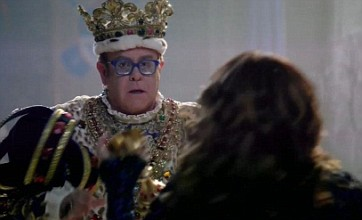 Elton John, David Beckham and Ricky Gervais dominate Super Bowl adverts