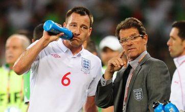 Fabio Capello could face England sack over 'serious' John Terry outburst – hints ex-FA boss