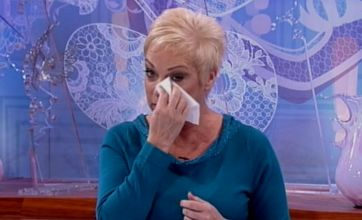 Tearful Denise Welch announces split from Tim Healy on Loose Women