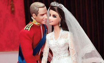 Prince William and Kate Middleton royal wedding Barbie dolls unveiled