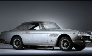 Battered 50-year-old Ferrari expected to fetch £60,000 at auction