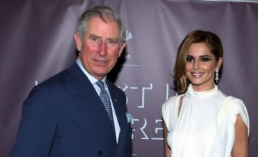 Cheryl Cole wows Prince Charles at Prince's Trust gala dinner