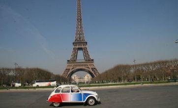 Take a tour of Paris in a Citroën Deux Chevaux