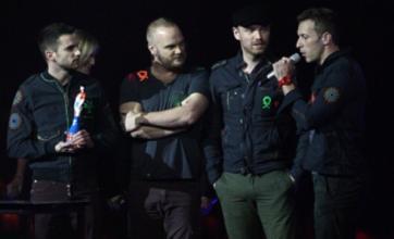 Chris Martin: Coldplay regret naming record Mylo Xyloto