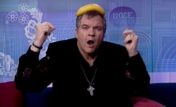 Meat Loaf taken ill before live TV interview on Loose Women