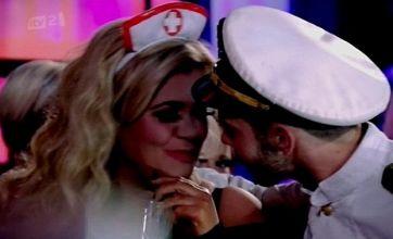 Gemma Collins swept off her feet by boyfriend Charlie in TOWIE finale