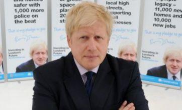 Boris Johnson launches nine-point plan in bid to stay mayor of London