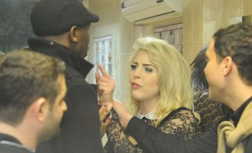TOWIE's Lydia Bright gets into kebab shop bust up in Essex