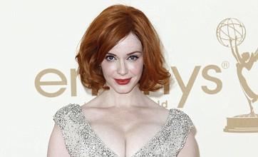 Christina Hendricks admits phone was hacked but says naked photo is fake