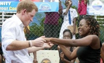Prince Harry 'thinking of William's example' during visit to Carribean