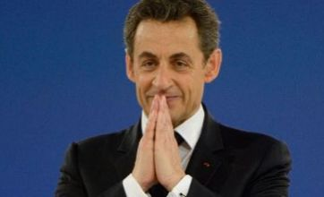 Nicholas Sarkozy apologises after son throws tomato at female police officer