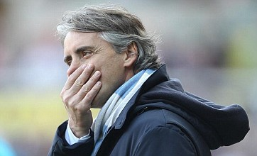 Mancini confident Man City can win Premier League despite Swans loss