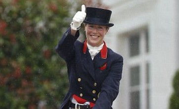 2012 hopeful Laura Bechtolsheimer wins dressage silver in Germany