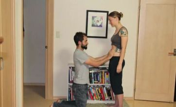 From pregnant to giving birth in 90 seconds: Time-lapse