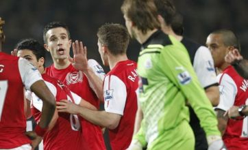 Jack Wilshere warns Tim Krul over Robin van Persie row in Arsenal win
