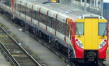 Trains can't hit 92% punctuality because of congestion on the lines