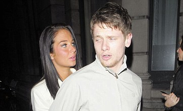 Jack O'Connell and Tulisa 'just mates' as pair go to football match together