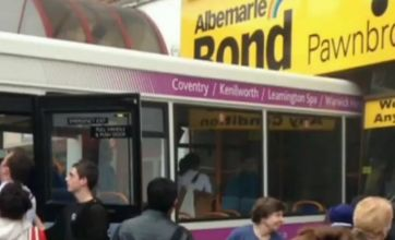 'Opportunistic thieves' loot jewellery store after Coventry bus crash