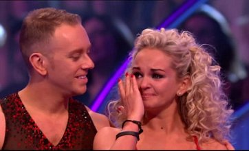 Jennifer Ellison eliminated in Dancing On Ice semi final