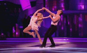 Matthew Wolfenden: Jorgie Porter looks like an angel on Dancing On Ice
