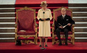 Queen gets stuck in lift after Diamond Jubilee speech at Westminster