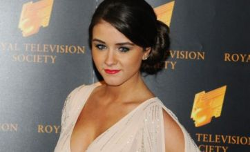 Brooke Vincent takes Helen Flanagan's advice by sporting plunging neckline