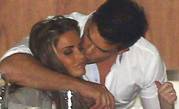 Katie Price toasts Alex Reid divorce with cuddles from ex Leandro Penna