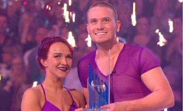 Matthew Wolfenden wins Dancing On Ice 2012