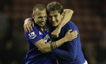 Nikica Jelavic fires Everton into FA Cup semi-final versus Liverpool