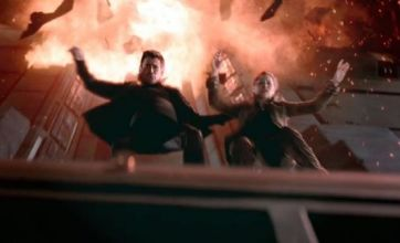 Total Recall teaser shows Colin Farrell jumping out of burning building