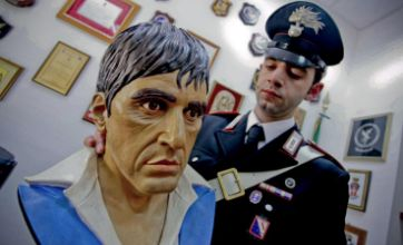 Neopolitan 'Godfather' kept life-size bust of Al Pacino's Scarface on desk