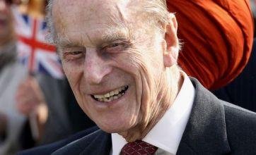 Duke of Edinburgh has fun with mobility scooter jokes on London visit