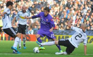 Arsenal's scouts have watched Adem Ljajic (Getty Images)