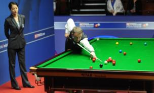 Stephen Hendry was in vintage form at the Crucible (PA)