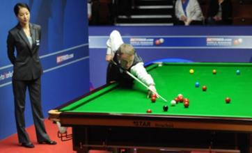 Stephen Hendry makes 147 maximum break at World Championship