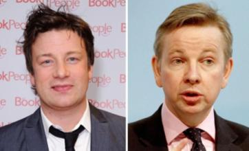 Jamie Oliver hits out at Michael Gove over academy school meals