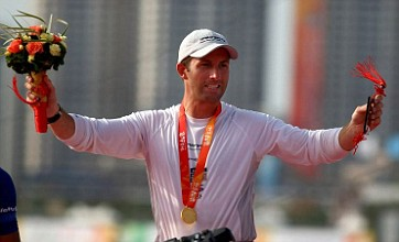 Ben Ainslie on the mend as he begins London 2012 campaign at World Cup