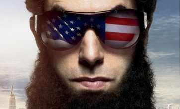 New Dictator poster sees General Aladeen set his sights on America