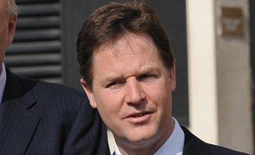 Nick Clegg joins critics to rail against Ken Clarke's 'unfair' secret court plan