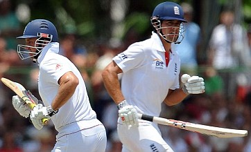 Andrew Strauss and Alastair Cook put England in control against Sri Lanka