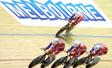 Great Britain break world record on way to team pursuit world title